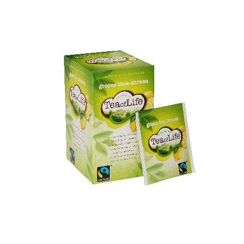 Tea of Life groen lemon